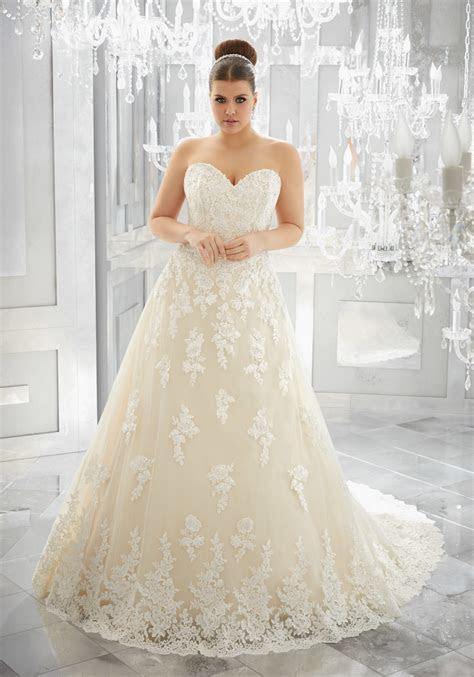 Muriella Plus Size Wedding Dress   Style 3226   Morilee