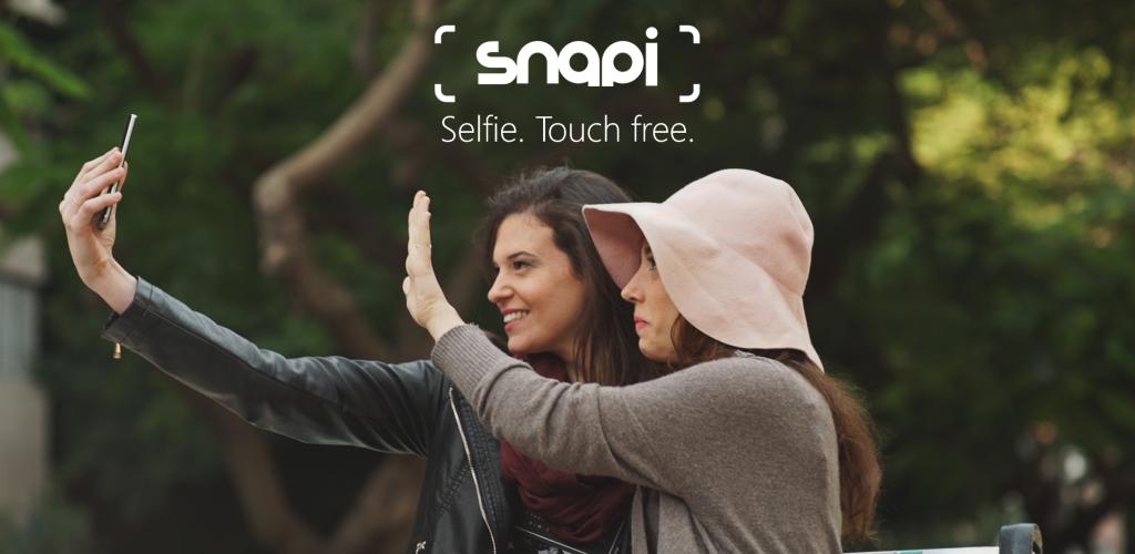 تطبيق Snapi للتصوير سلفي عبر حركة اليد للاندرويد