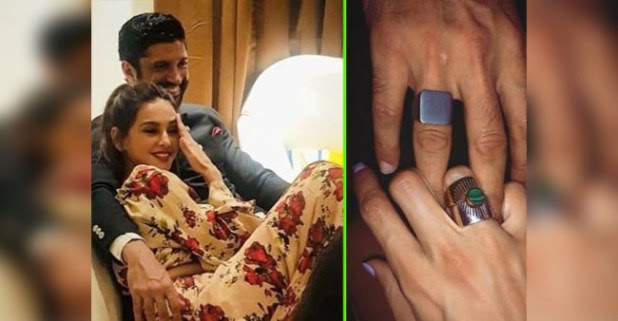 Farhan and Shibani Showoff Their Rings on Insta, Netizens Speculate If They're Engaged