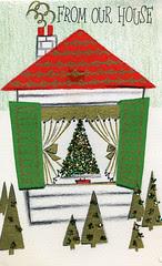 House Christmas Card