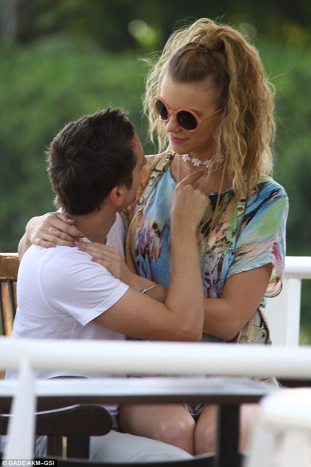 I want you: This is Matt's first relationship since splitting from Kate last year and it seems to be going just fine