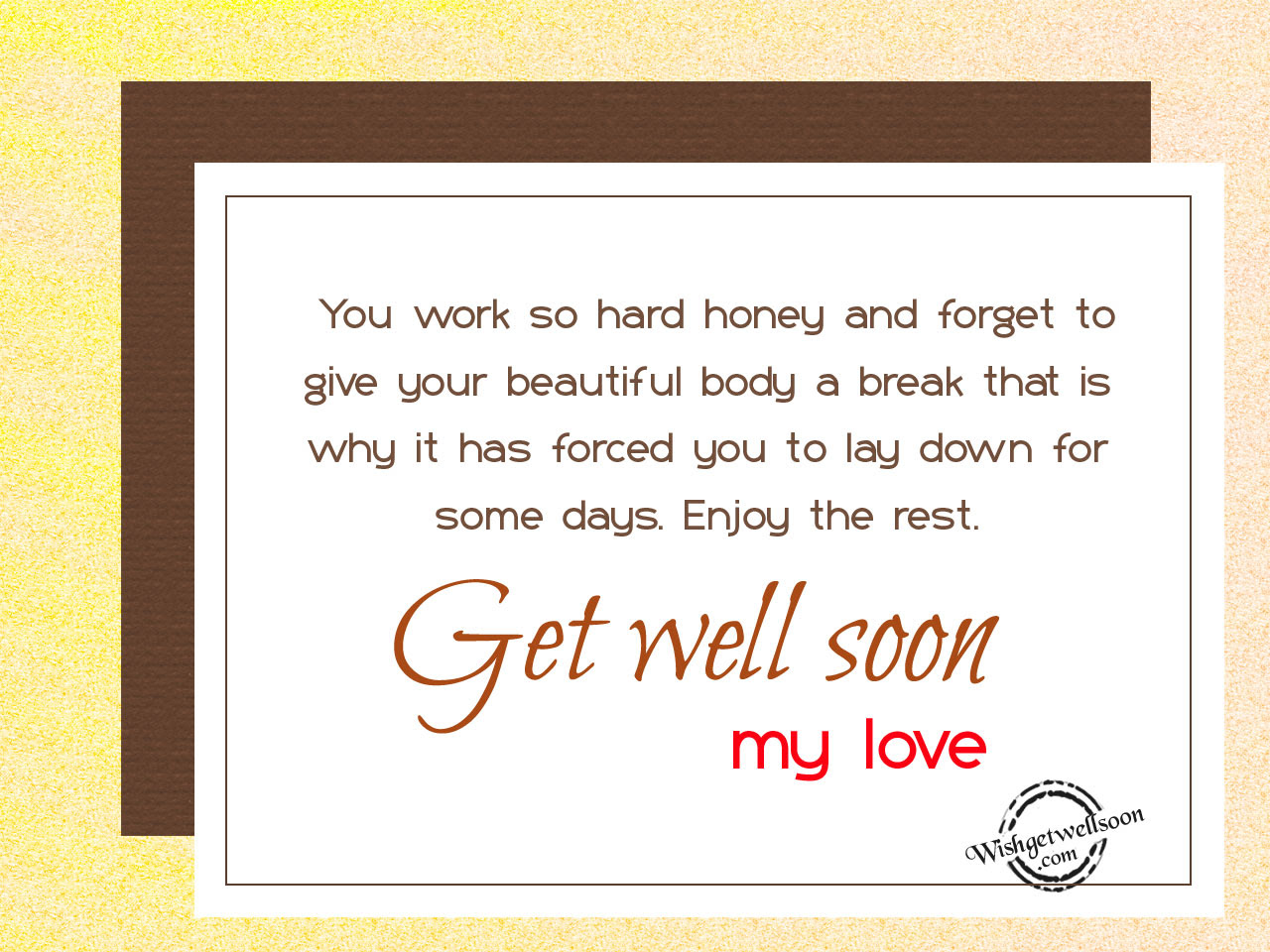 Get Well Soon Wishes For Husband Pictures Images Page 2