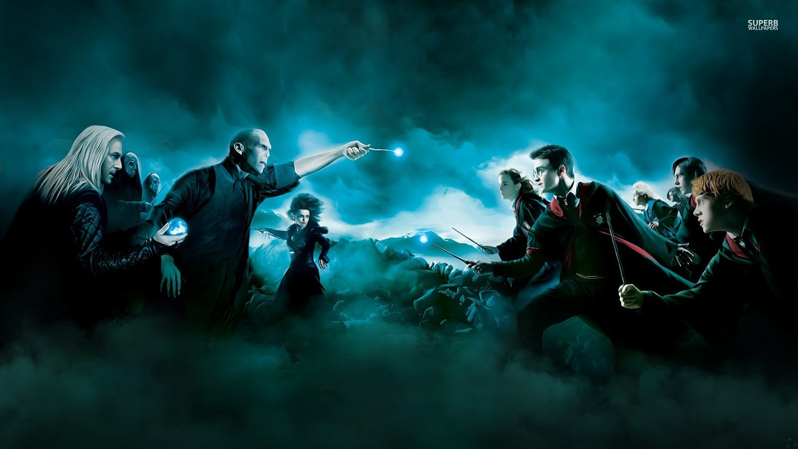 Harry Potter And The Deathly Hallows Harry Potter Wallpaper