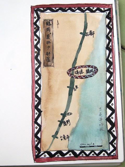 鶴岡位置圖