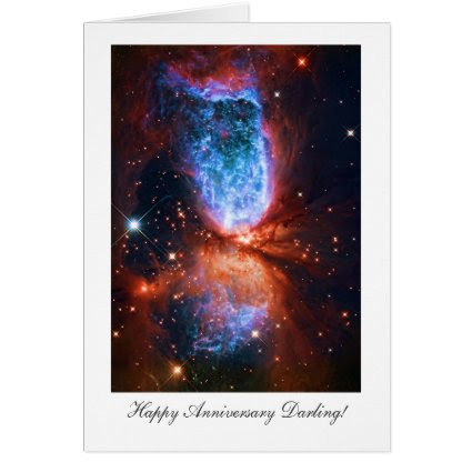 Happy Anniversay Darling - Cygnus, The Swan Card