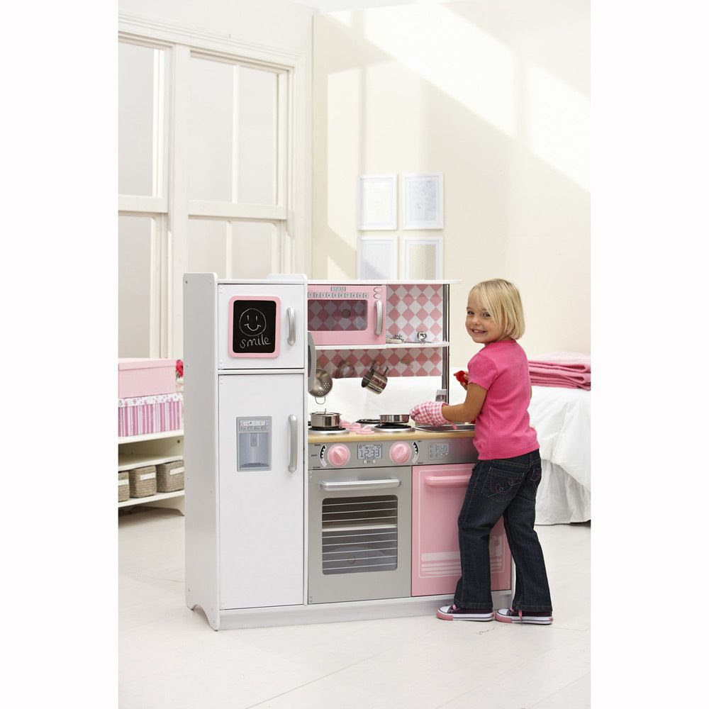 Kidkraft Kitchen Petal Pink Big W Kidkraft
