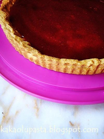 la palette strawberry tart