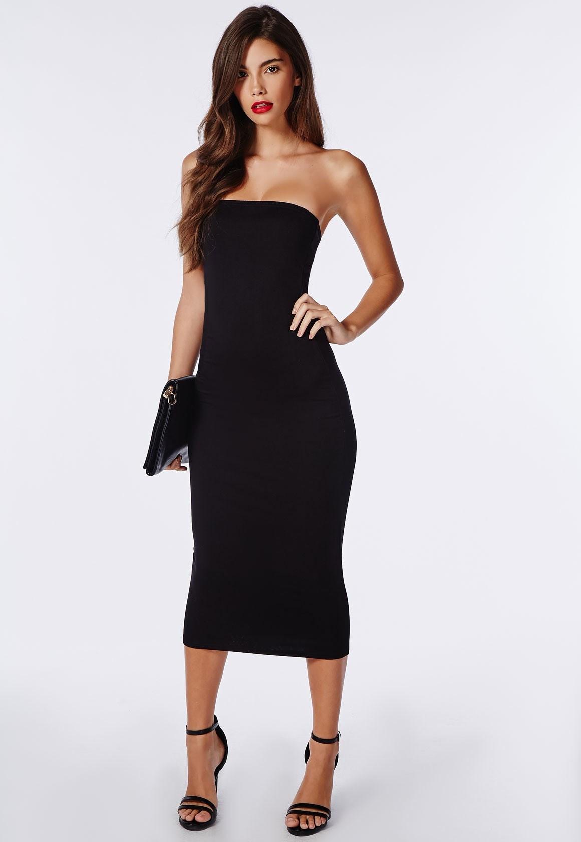 Plus size vinyl bodycon dress
