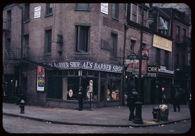 southeast-corner-of-1st-st-and-bowery-1942