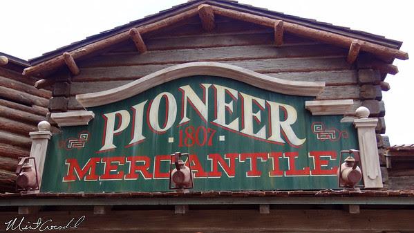 Disneyland Resort, Disneyland, Pioneer Mercantile, Limited, Time, Magic