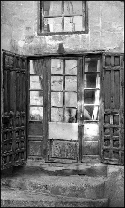 Carpintería en Toledo en 1967. Fotografía de John Fyfe