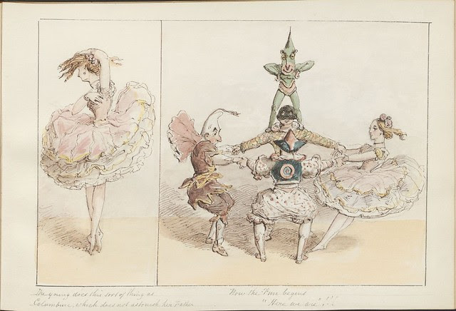 Pantomime as it was is and will be by Alfred Crowquill (aka Alfred H Forrester) - 1849 - (The young does this sort of thing...) - courtesy Harvard U