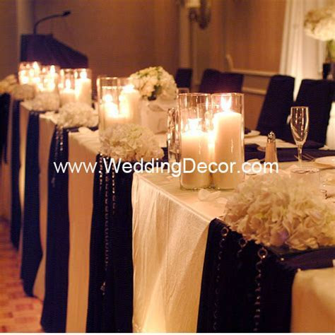 DIY Centerpiece Rentals   Head Table Decor Ideas
