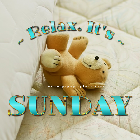 Relax Its Sunday Graphics Quotes Comments Images Greetings