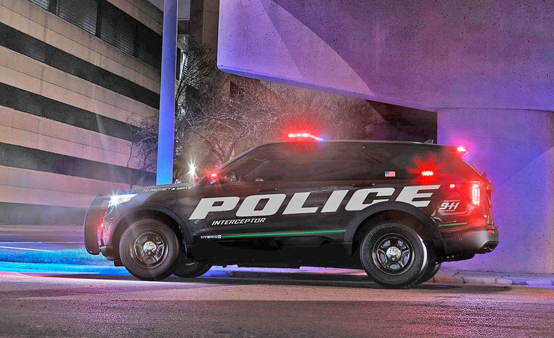 New 2020 Ford Explorer Revealed In Cop Format - Law Officer
