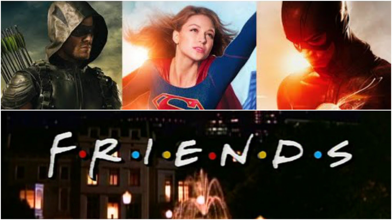 Green Arrow Supergirl And The Flash Get Mashed Up With The