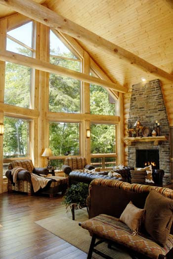 How To Re-Design Your Log Home Interior