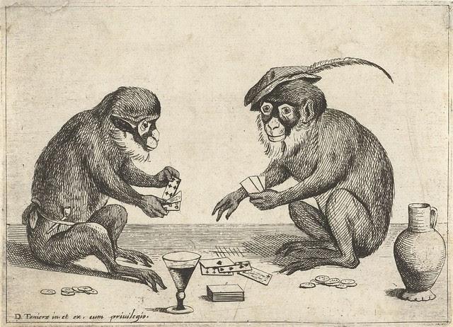 Twee apen kaarten, Quirin Boel, 1635
