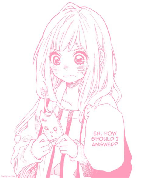 kawaii anime pink manga edit anime girl pink