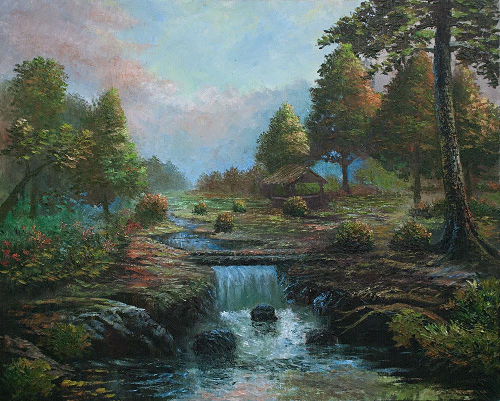 Lukisan Landskap by Lukisan Bagus at Coroflot com