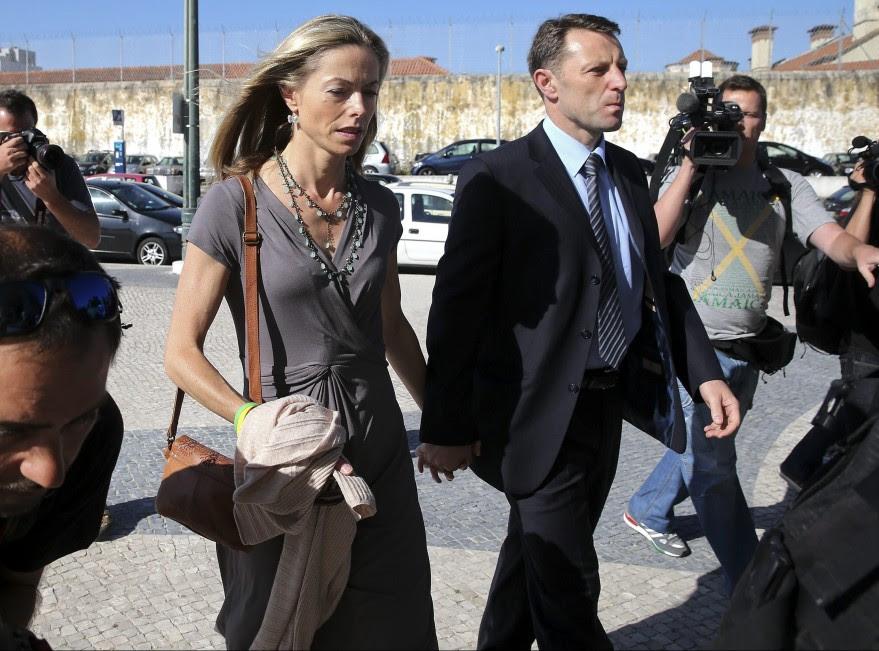 Los McCann acuden al juicio contra el expolicía Amaral
