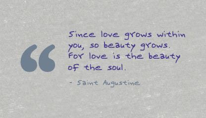 Love Is The Beauti Of The Soul Beauty Quote Quotespicturescom