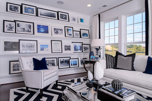 photo ledge artwork gallery wall display ideas design decorating