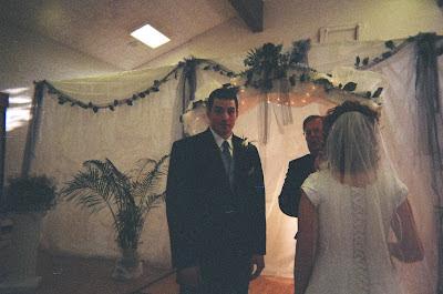 Bride, Groom and Bishop