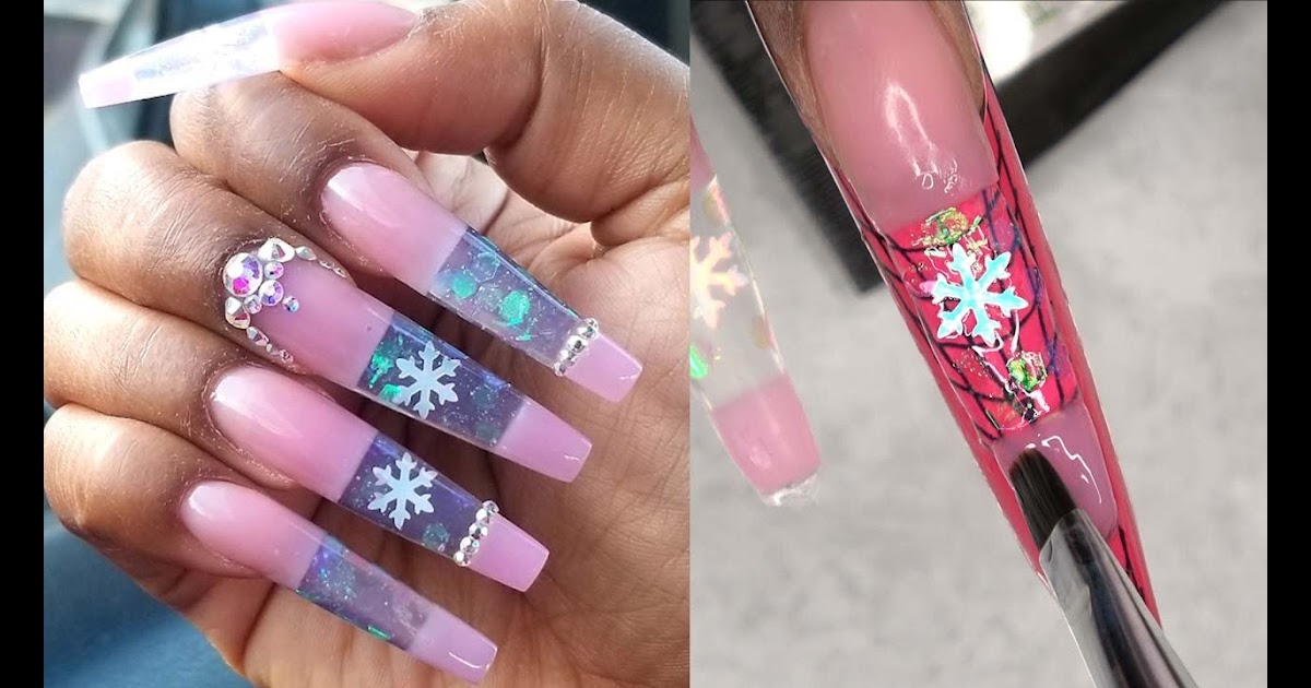Easy Blooming Nail Art Designs with Jelly Gel Polish