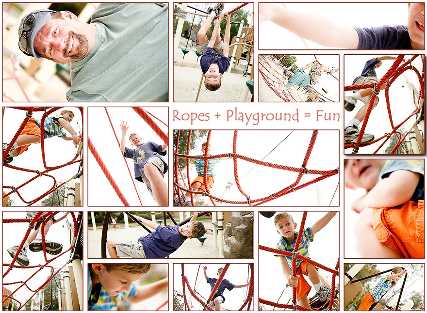 rope playground