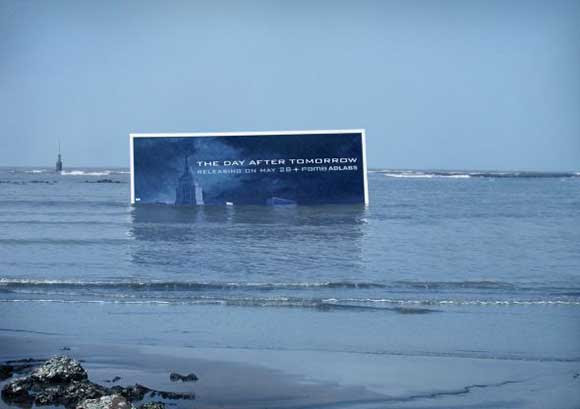 Day After Tomorrow: Submerged Billboard