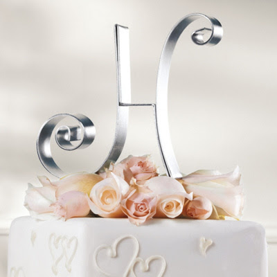 Metal Initial Wedding Cake Topper You May Also Like You May Also Like