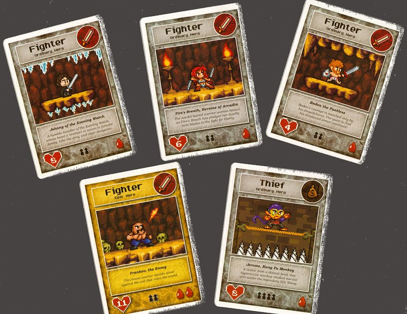 Brotherwise Games Boss Monster Hero cards