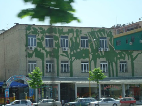 Trees on the Building