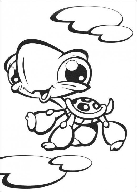 Littlest Pet Shop Coloring Pages for Children