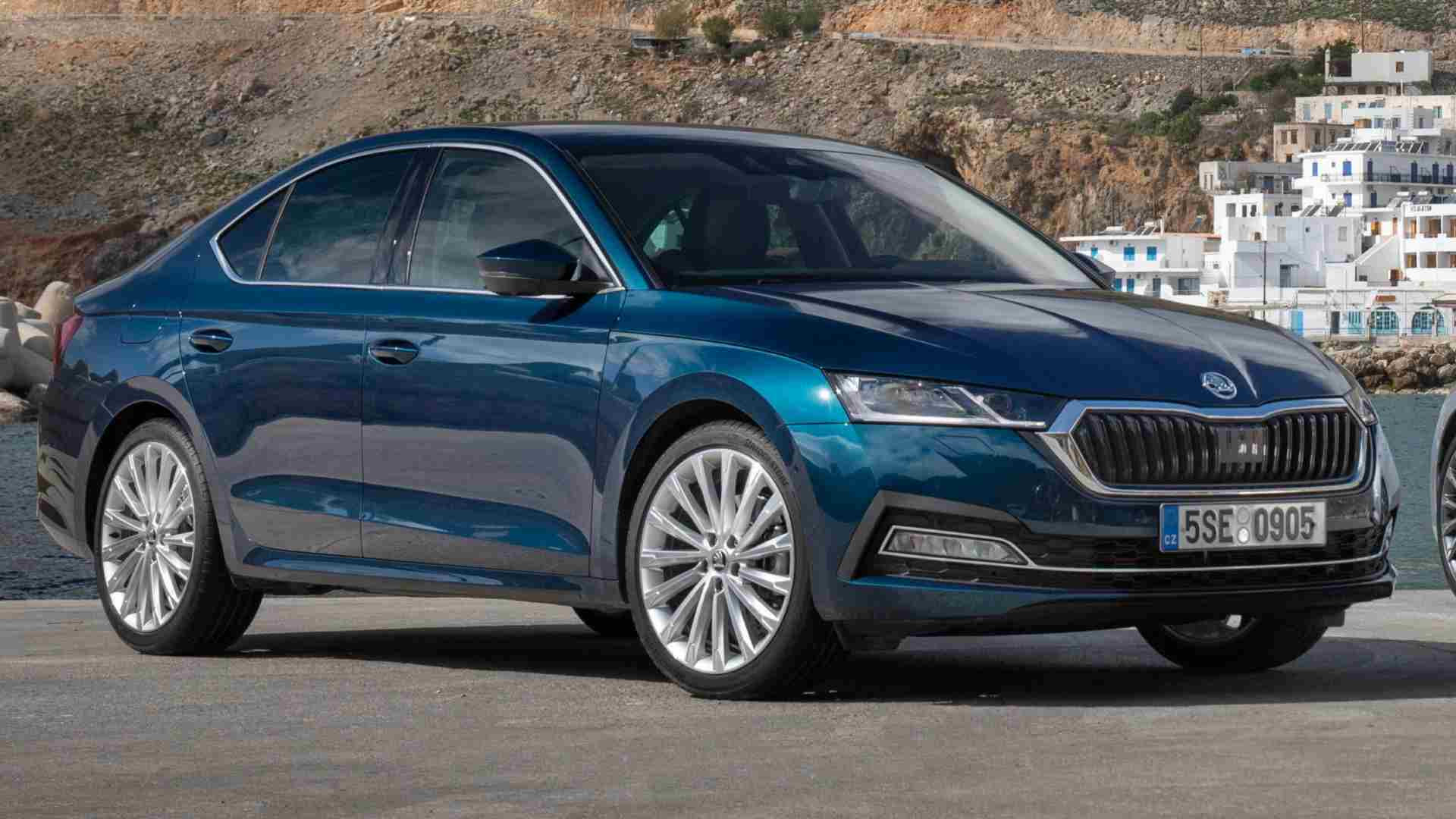 The new Skoda Octavia is expected to only be offered with a 2.0-litre petrol engine at launch. Image: Skoda