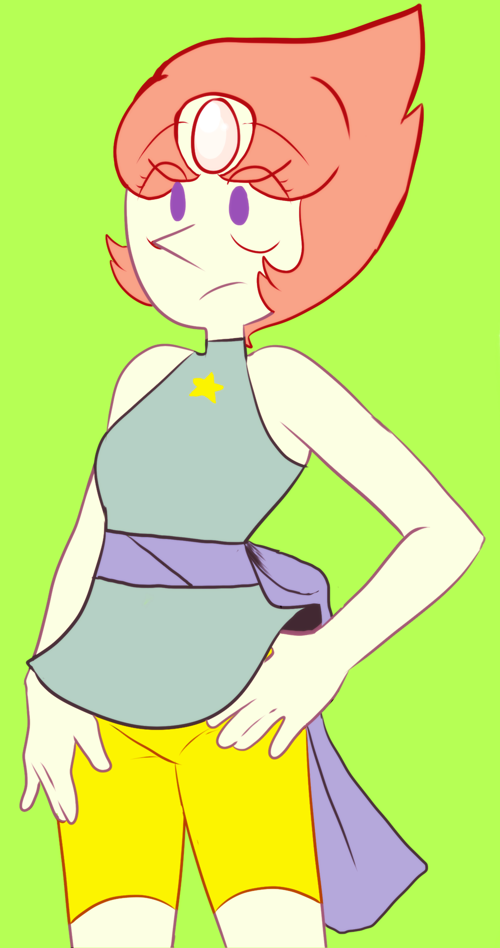 I drew Pearl last night,and I drew Rose today.