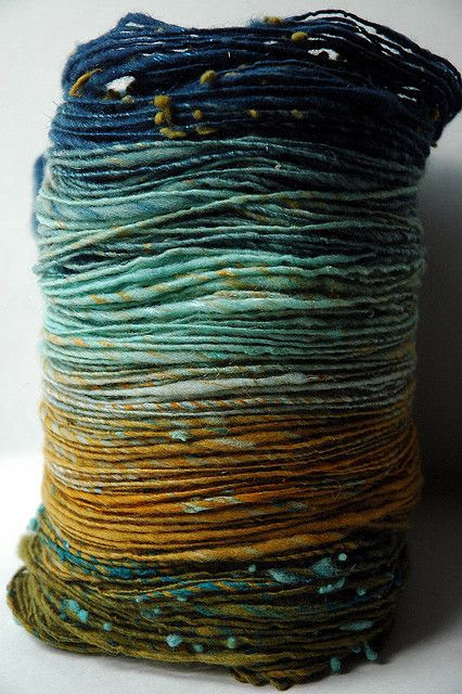 handspun yarn - moonrover