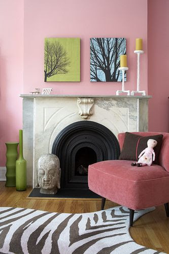tree silohuettes for fall mantle