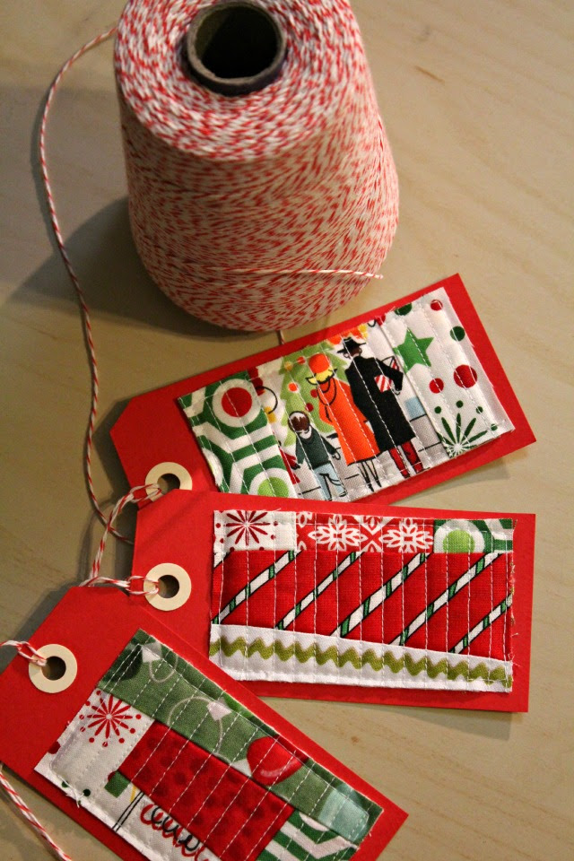 Quilted Gift Tags