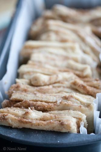 Cinnamon pull-apart bread / Kaneelilõõts