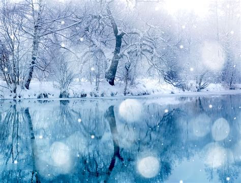 snowy lake wallpaper  hd winter images
