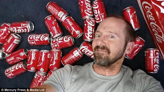 Guess How Much Weight He Gained After 10 Cans of Coke Each Day?
