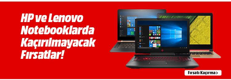 HP ve Lenovo Notebooklarda Kaçırılmayacak Fırsatlar!