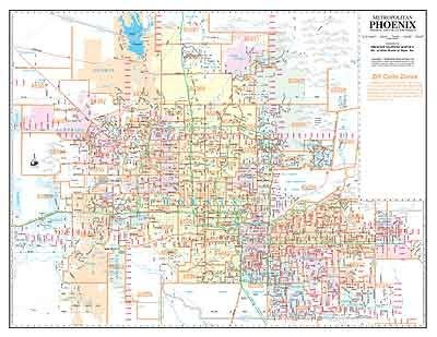 Zip Code Map Phoenix on