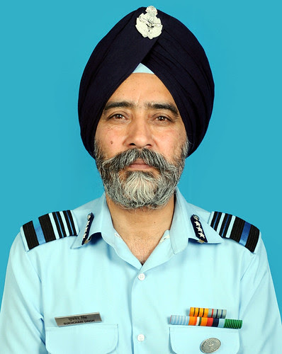Photograph- Air Mshl Sukhchain Singh by Chindits