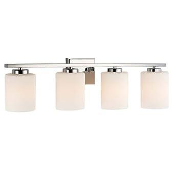 "Amazon.com: Dolan Designs 3884-26 4 Light 7.75"" Height Bathroom"