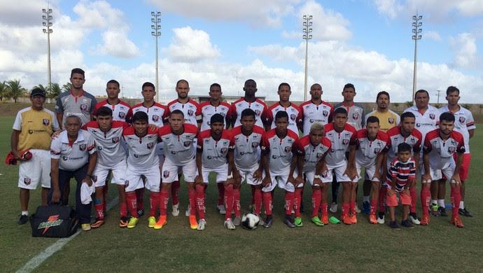 Santa Cruz de Natal campeão segunda divisão (Foto: Divulgação)