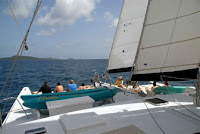 BVI Sail Dive Charter Promenade