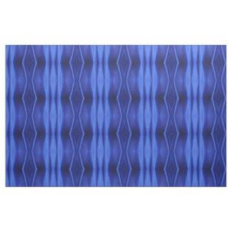 Geometric Blue Silk Abstract Photo Fabric